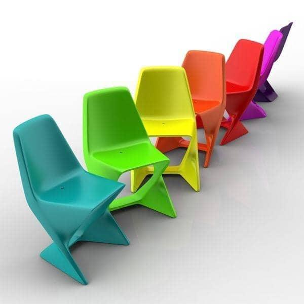 ISO CHAIR, elegant og stabelbar - miljøvenlig, deco og design, QUI EST PAUL