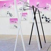 LOOP עמדה, HAY, לכל הבגדים - אידיאלי עבור התצוגה, גלריות, חנויות - דקו ועיצוב