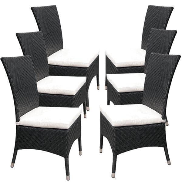 Everdark tavolo da pranzo con sedie abbinate h misph re for Tavolo da pranzo con sedie