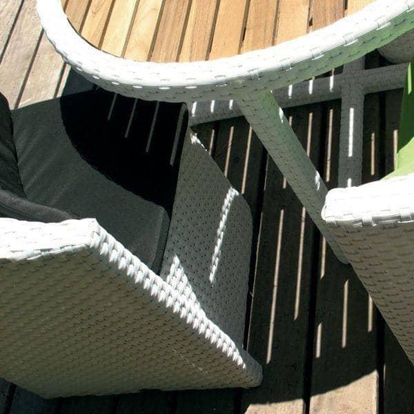 de jardin PROXIMITY, structure aluminium, résine tressée traitée ...