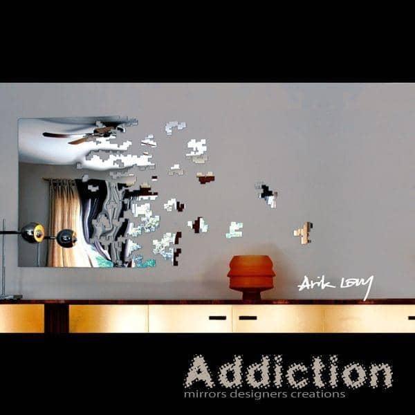 Miroir d coratif dissolve arik levy robba dition for Miroirs decoratifs