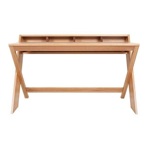 Lovely RAVENSCROFT Desk - oak and walnut finish, LEONHARD PFEIFER XW54