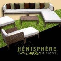 Table de jardin design, mobilier extérieur moderne qualité ...