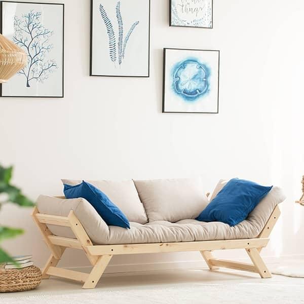 alula sofa m ridienne convertible en lit d 39 appoint nordic design. Black Bedroom Furniture Sets. Home Design Ideas