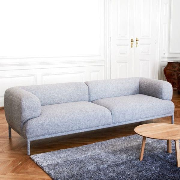 bjorn sofa hay a light sofa with rounded shapes deco. Black Bedroom Furniture Sets. Home Design Ideas