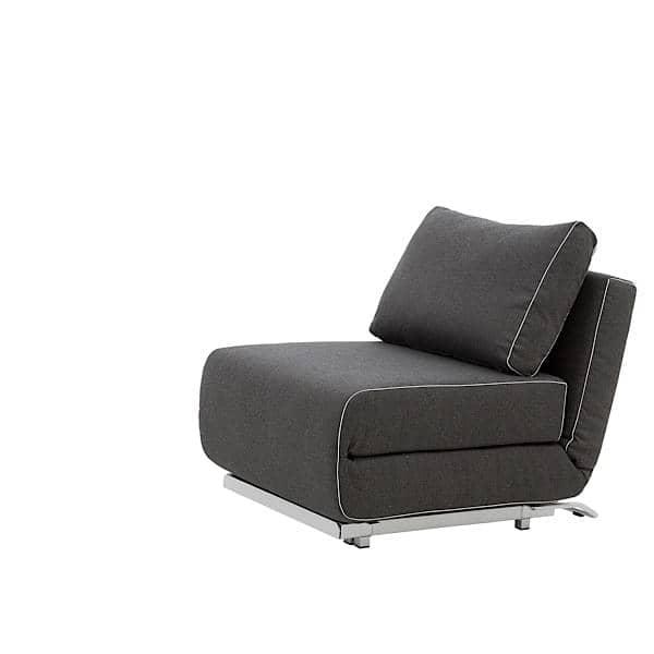 CITY, un fauteuil et un canapé convertibles, design et confortables