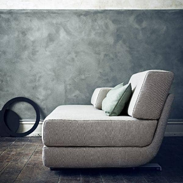 Divano LOUNGE, FELT : Divano trasformabile, 3 posti, Chaise longue: belle combinazioni, SOFTLINE