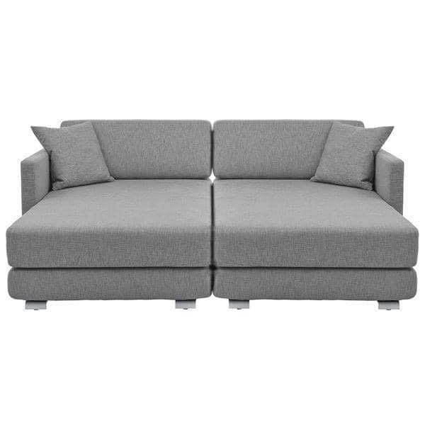 Lounge Sofa Nordic Convertible Sofa 3 Seater Chaise