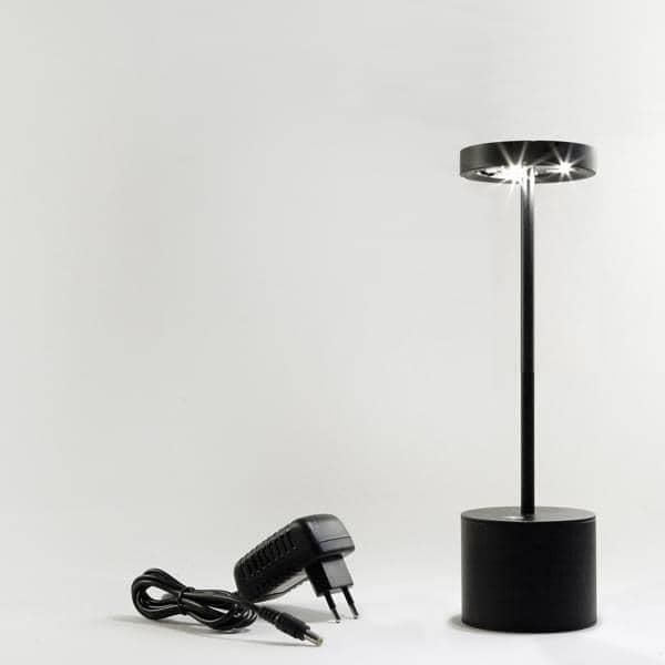 die drahtlose firefly lampe led tischlampe f r den innen oder au enbereich hisle. Black Bedroom Furniture Sets. Home Design Ideas