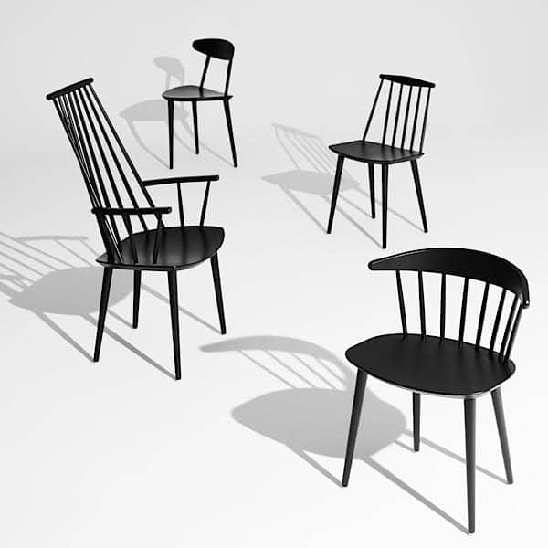 O J77 Chair, HAY : um gosto de vintage, grande conforto, design nórdico